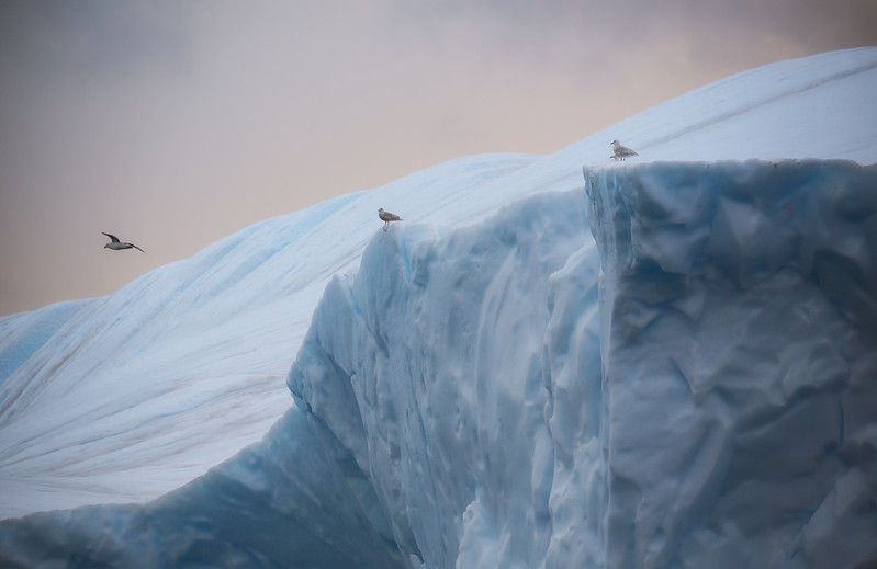 Glacial runway