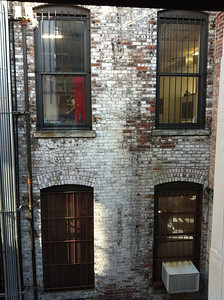 The Gowanus art district warehouse