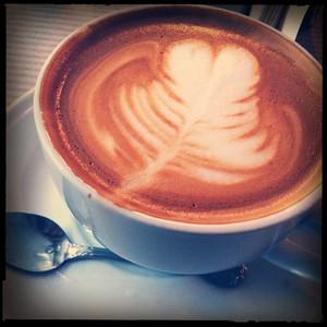 The Iris Cafe Latte