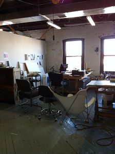 A studio in the Gowanus art district
