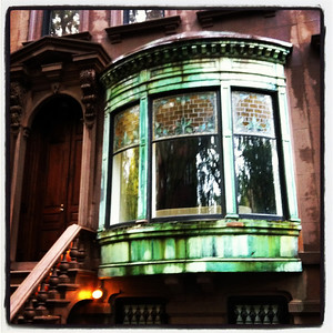 An historic brownstone in Brooklyn Heights