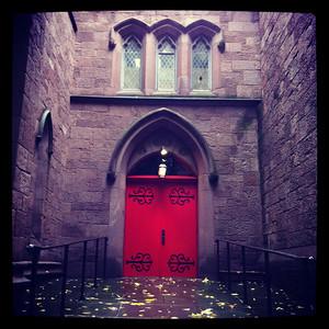 An old church in Brooklyn Heights