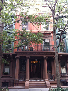 Sandy's home and office in Brooklyn Heights while in NYC