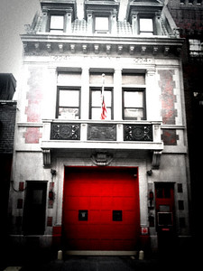 One of many firehouses