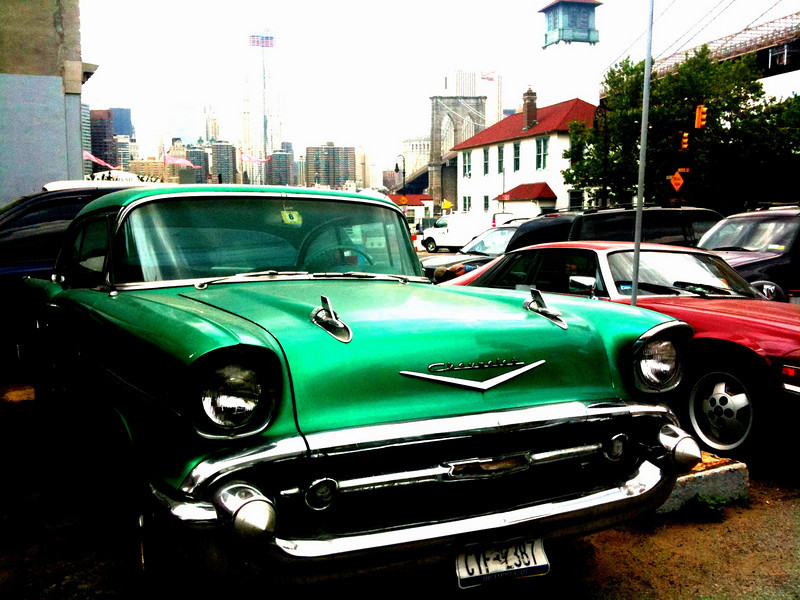 The classic Chevy in Brooklyn - I think Fonzi rode in this!