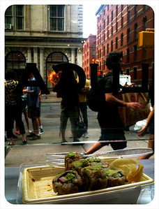 Sushi in Manhattan
