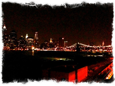 The NYC skyline from the Brooklyn Heights Promenade