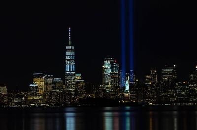 9/11 Memorial Lights 2017