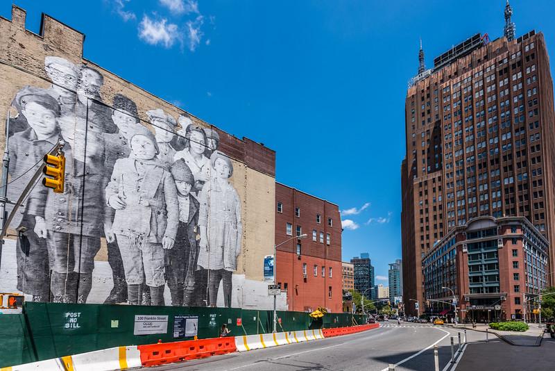 Greenwich Village Building Art