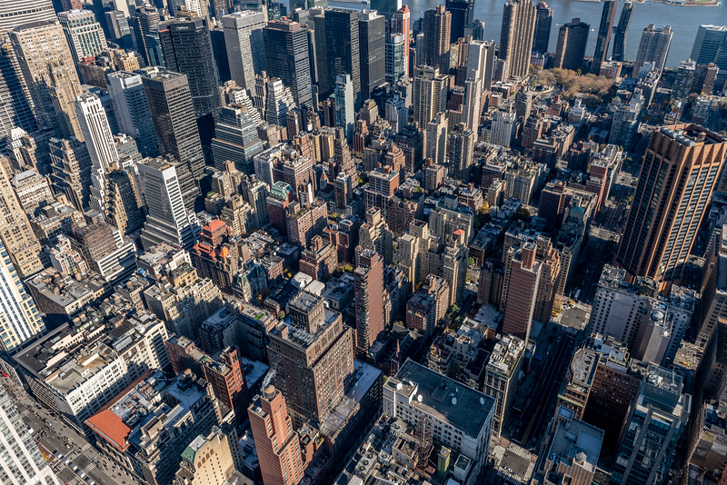 Smaller Buildings of Midtown Manhattan