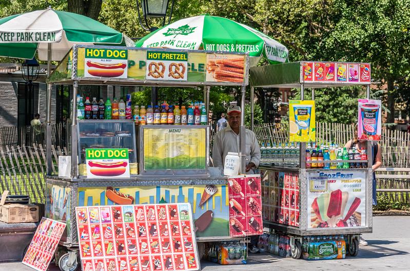 Grumpy Street Vendor