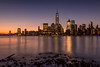 Downtown New York City Skyline-Landscape
