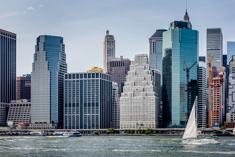 Sailing Lower Manhattan