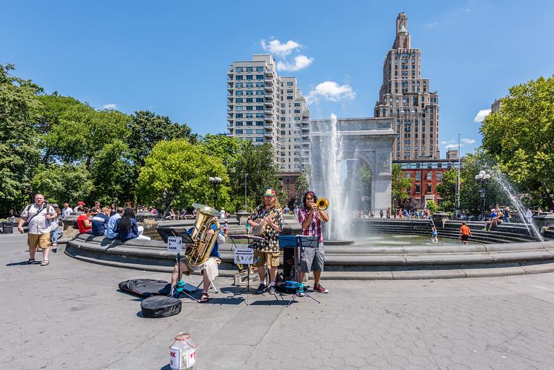 Washington Square Park Brass Band