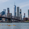 Kayaks on the East River