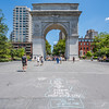 The Roman Arch at Washington Square Park