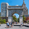 Summer Day in Washington Square Park