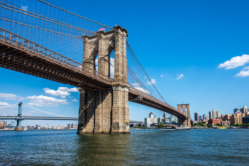 Brooklyn Bridge & East River