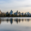 Central Park West Reflections