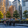 Biking Columbus Circle