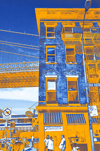 Under the Brooklyn Bridge - Orange