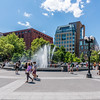 Fountain in Washington Square Park