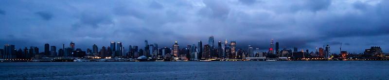 New York Skyline from New Jersey