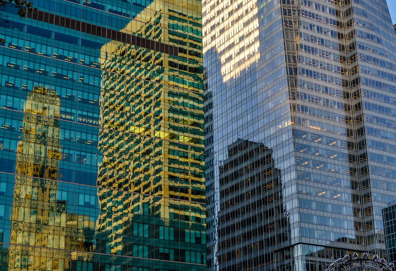 Skyscrapers Reflected