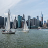Sailboats Race on the East River