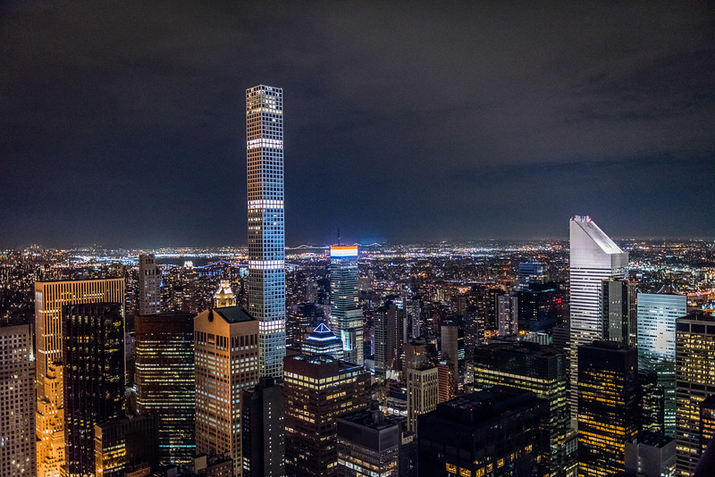 432 Park Ave at Night