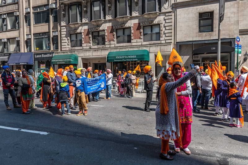 Sikh Parade on Fifth Avenue