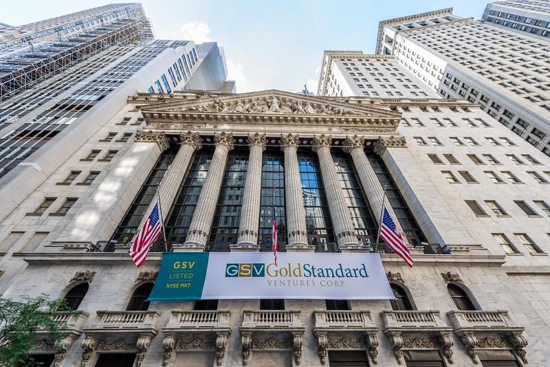 Corinthian Pillars of the NYSE