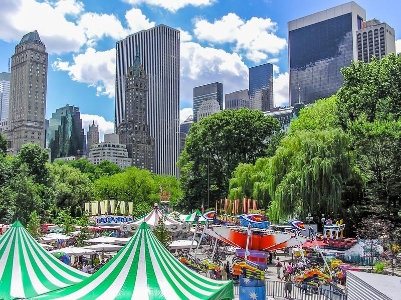 Carnival in Central Park