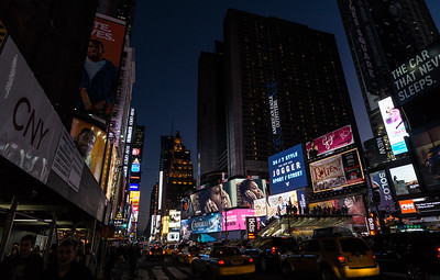 Times Square at Twilight, NYC
