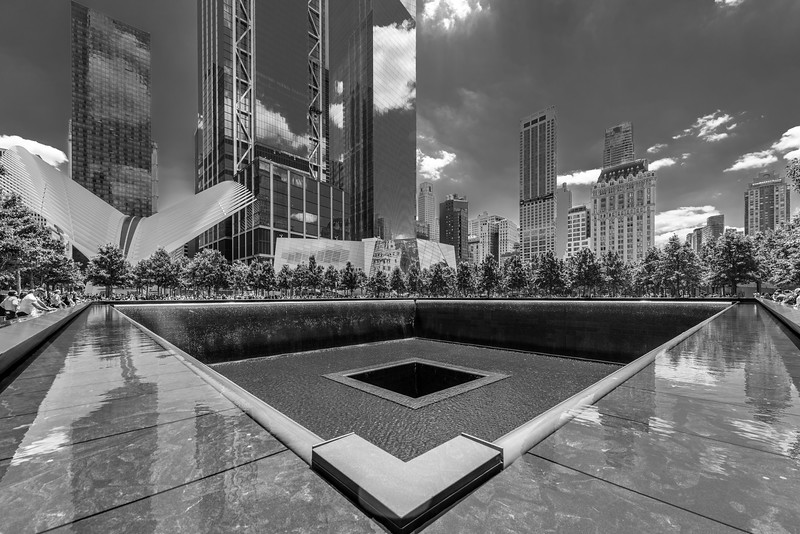 September 11 Memorial Black & White
