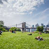 Brooklyn Bridge Sunbathers