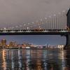 Manhattan Bridge Spanning the East River