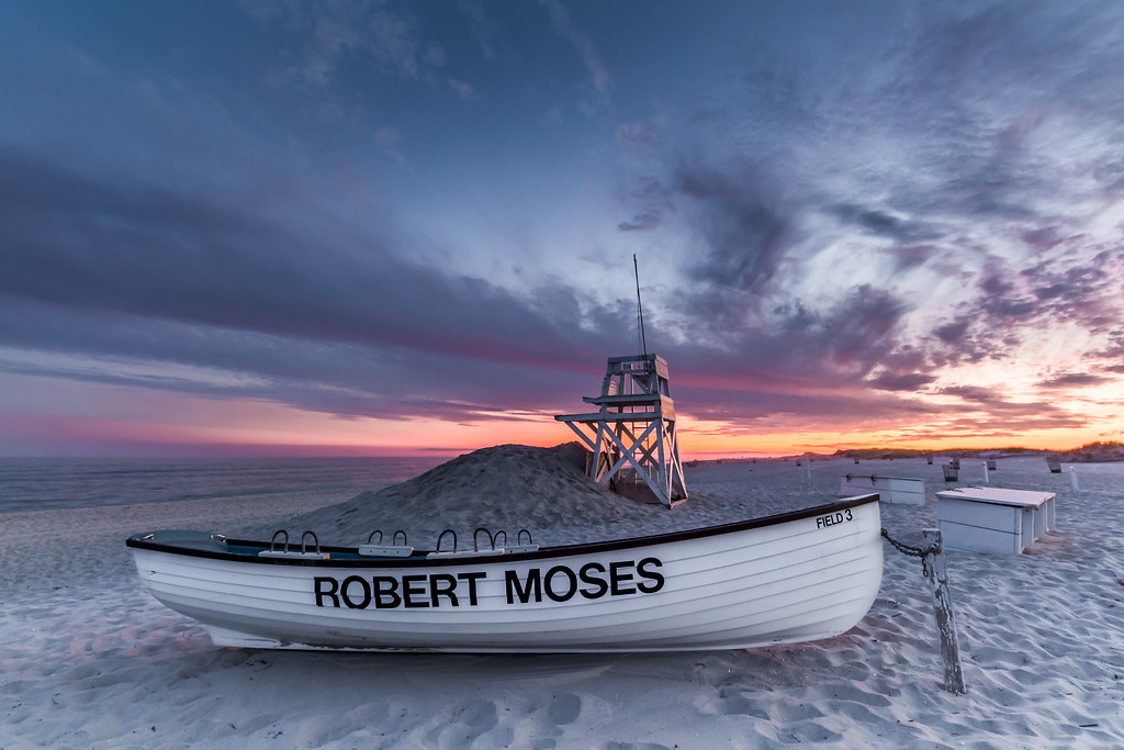 Robert Moses Field 3 Sunset