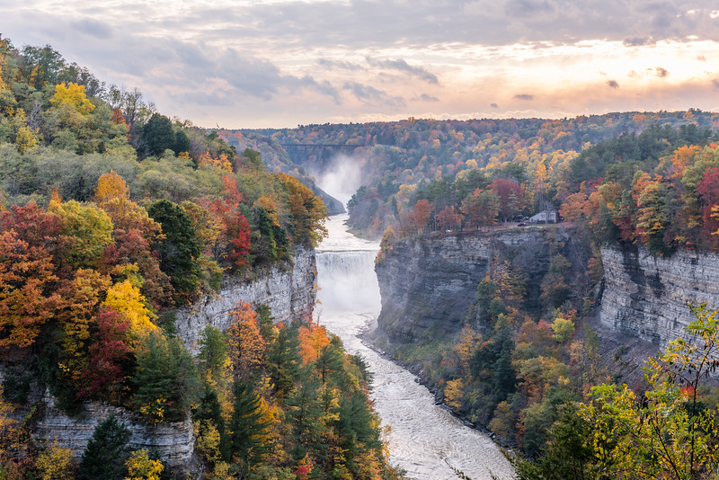 Autumn  at Letchworth State Park