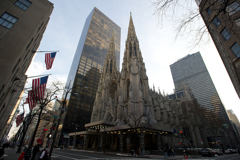 St. Patrick's Cathedral - Dedicated 1879