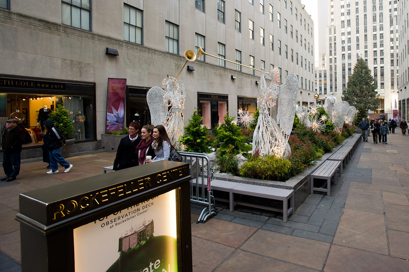 Rockefeller Center entrance