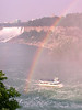 Niagara Falls - Maid of the Mist with rainbow - 2002