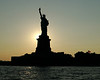 Statue of Liberty at Sunset - 2005