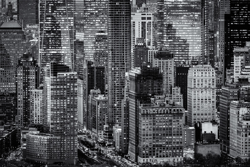 The Financial District, NYC