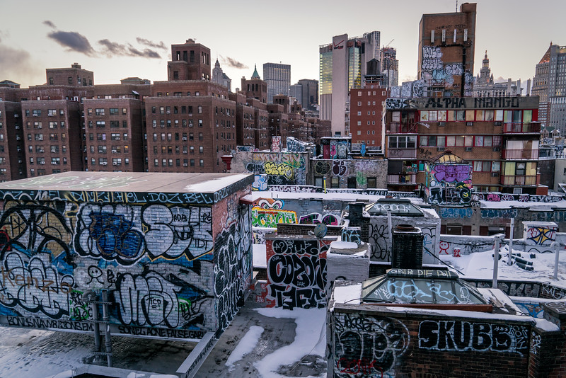 Graffitis, Manhattan, NYC