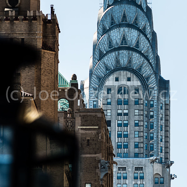Chrysler Building viewed from Lexington Ave