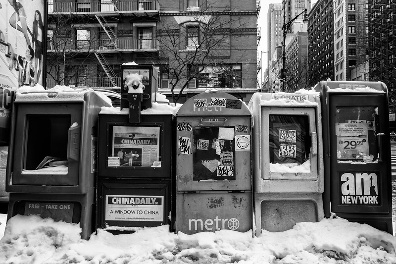 Newspapers, NYC
