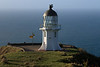 Cape Rerenga Lighthouse - 1941 - located at the northwesternmost mainland point of New Zealand - Northland region - North Island - the confluence of the Tasman Sea and Pacific Ocean - about 1,200 mi. (1,930 km) from Australia.