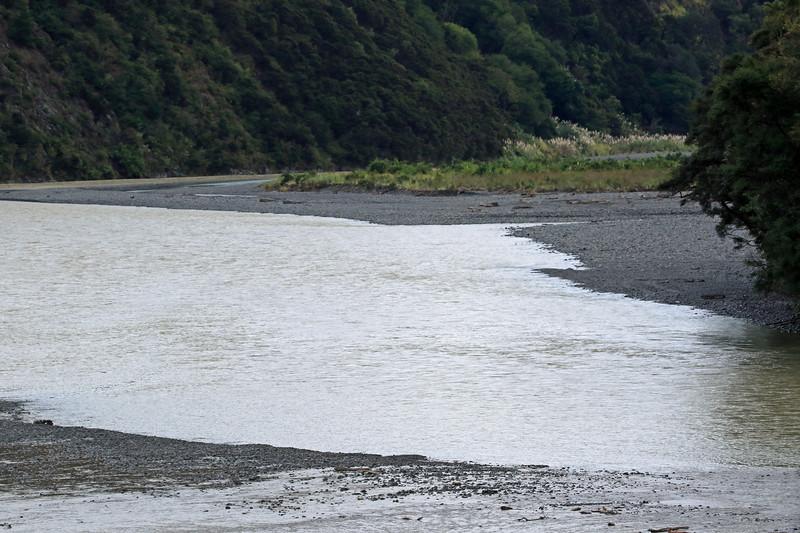Motu River - flowing from the Raukumara Range - Bay of Plenty region.