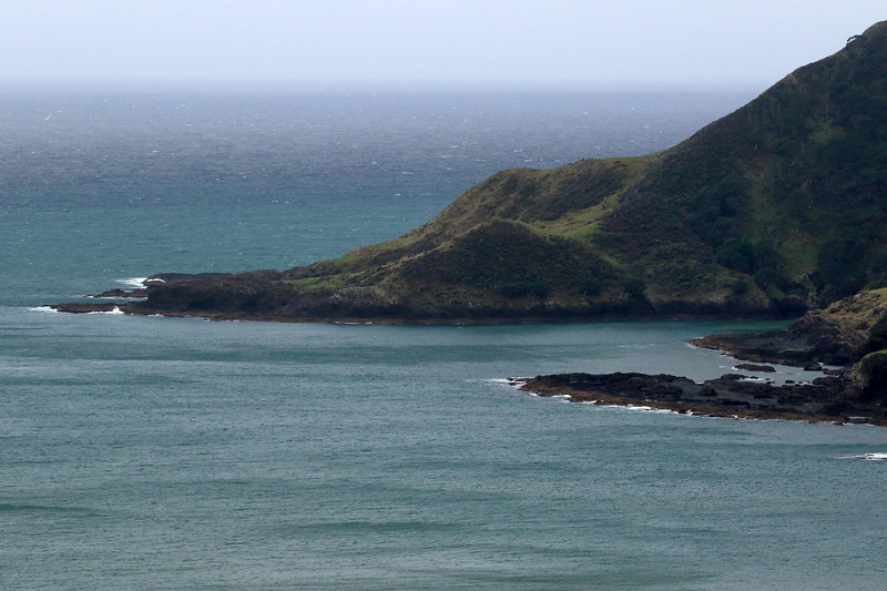 Lottin Point - Wakatiri in Māori - the northernmost point of both the Raukumara Peninsula and Gisborne (East Cape) region - beyond the Southern Pacific.
